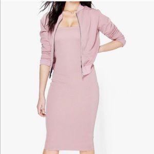 Boohoo jacket/dress set